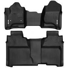 Oedro Floor Mats Liners Tpe for 2014-2018 Silverado/Sierra Crew Cab All-Weather