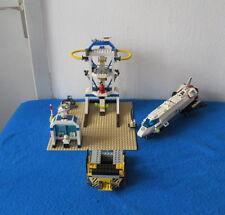 LEGO System 6456 Space Shuttle Weltraumport Weltraumbahnhof Rakete Startrampe
