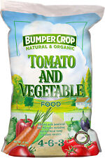 Pack of 5, Bumper Crop Tomato And Vegetable Plant Food 4-5-3 Kellog Garden Produ