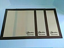 "Set of 3 -14x14""  Excalibur ParaFlexx Ultra Silicone Re-usable Dehydrator Sheets"