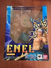 "NEW! Bandai Tamashii Nations ""One Piece"" Figuarts Zero Enel Action"