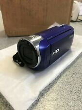 Sony HDRCX240 Handycam Camcorder Blue HD AVCHD Progressive GA