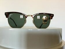 Ray Ban Sonnenbrille Clubmaster Kultbrille RB3016 W0366 Braun Gold 49-21 NEU!!