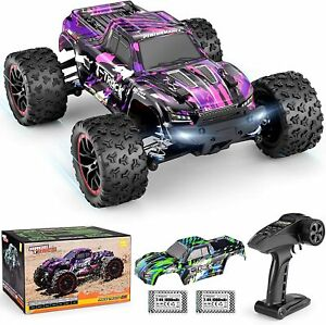 1/18 Scale Brushless Fast RC Cars 18859A, 4WD Off-Road Remote Control Trucks 48