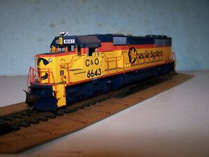 Athearn RTR Chessie SD50, DCC ready