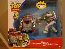 "Disney Pixar ""Toy Story 3"" 2 Pack Laser Sparks & Laser Blast Buzz Lightyear New"
