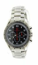 Omega Speedmaster Broad Arrow Olympic Stainless Steel Watch 3556.50