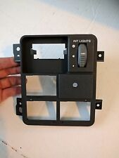 Dimmer Dash Switch Mount Mounting Plate Panel Chevy Blazer 95 96 97 98 99 00 01