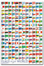 """Flags Of The World Fridge Magnet Size 2.5"""" x 3.7"""""""