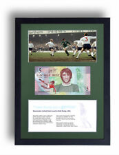 NORTHERN IRELAND LIMITED EDITION FRAMED GEORGE BEST £5 POUND NOTE FIVER