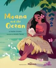 Moana and the Ocean Hardcover Book Inspired by the Disney film