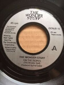 THE WONDER STUFF - ON THE ROPES / PROFESSIONAL DISTURBER OF THE PEACE - GONJB 15