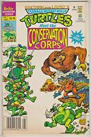 TEENAGE MUTANT NINJA TURTLES MEET THE CONSERVATION CORPS#1 FN 1992 ARCHIE COMICS