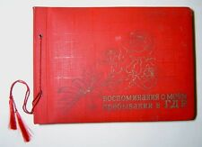 Album photo Army soldiers Soviet forces in Germany DDR West Group USSR