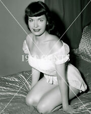 1950s NUDE 8X10 PHOTO BUSTY NICE ASS PINUP BETTIE PAGE FROM ORIGINAL NEG-12