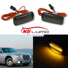 Smoked Front Led Side Marker Lights for Chrysler 200 300 Sebring Town & Country