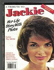 A Tribute to Jackie Kennedy Onassis 1994 Magazine Collector's Edition