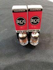 2 RCA 5696 Vacuum Tubes