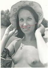 Nr,33164 Foto schöne  Frau  Busen Erotik  12,5  x 19 cm  um 1960