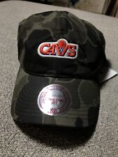 best website 65745 64b20 NWT Mitchell And Ness Cleveland Cavaliers Camo Basketball Strap Back Dad Hat