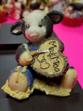 Mary Moo Moos Figurine - Moo Carved A Place In My Heart