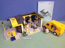 (O4400.5) playmobil la poste et le fourgon postal DHL ref 4400 4401