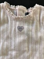 Lili Gaufrette (France) NWOT Pink Cotton Top- 3  Months