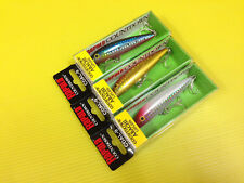 Lot C of Three Rapala Countdown ABACHI LIPLESS CDAL-9 in 3 Colors Lures, NIB.