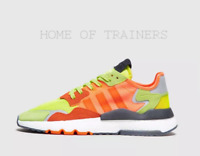 adidas Originals Nite Jogger Road Safety Orange Red Men's Trainers All Sizes