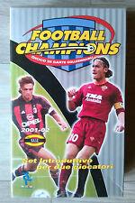 Gioco da Tavolo di Carte Collezionabile Football Champions Wizards 2001/2002 Nuo