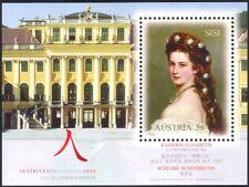 "Austria 2010 ""Expo 2010""/Empress Elisabeth/Royal/People/Art/Paintings m/s at1072"