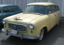 Old Photo.  Yellow 1955 Rambler Cross Country