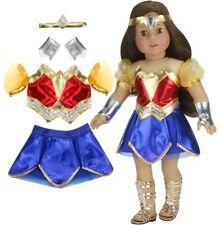 18 Inch Doll Super Hero Woman Costume by Sophia's, Fits American Girl Dolls