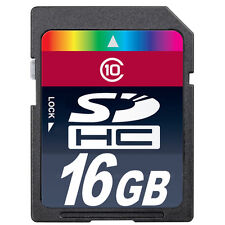 16GB SD-HC Class 10 Memory Card