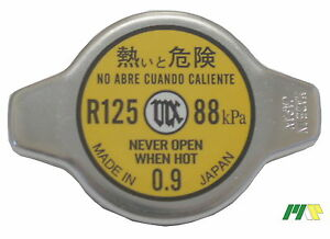 Japan Futaba Radiator Cap R125, Interchangeable with 58090