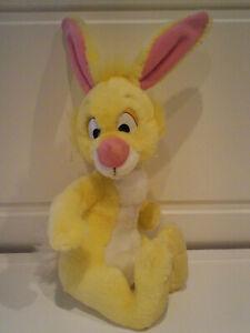 "Walt Disney Soft, Plush ""Yellow Rabbit"" from Winnie The Pooh, 13 inches"