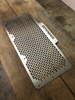 Defender Grille Stainless Steel Mesh Land Rover Defender Front Radiator Silver