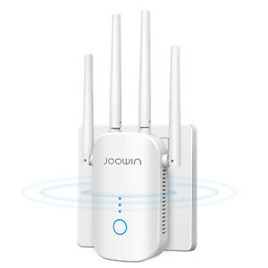 1200Mbps WIFI Repeater 2.4GHz&5GHz Dual Band Wireless Range Extender AP Booster