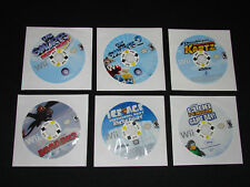Lot of 6 NINTENDO Wii GAMES -  GREAT TITLES!!  SMURFS, ICE AGE, HOW TRAIN DRAGON
