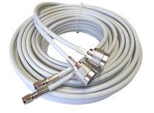 Low loss TWIN-Koaxkabel 10m für LTE-Antennen mit N-Buchsen
