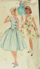 Simplicity 2007 Sewing Pattern Party Dress  Vintage 1960's Girls Sz 12 Complete