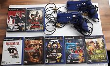 Namco G-Con 2 Light Gun & Spiele Resident Evil Survivor DEAD AIM Time Crisis PS2