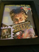 Roger Taylor Fun In Space Rare Original Promo Poster Ad Framed!