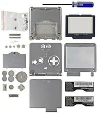 Game Boy Advance SP [GBA SP] Replacement Shell Platinum [Silver]
