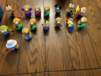 2013 McDonalds Despicable Me 2 Minions Happy Meal Toys