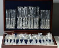 Silver Plated Service 84 Piece Canteen of Cutlery