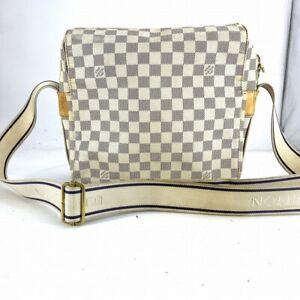 Louis Vuitton Shoulder Bag N51189 Naviglio Damier Azur Canvas unisex #DR57-385