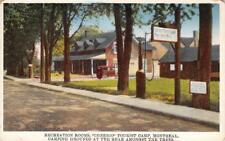 CHEERIO TOURIST CAMP Montreal, Québec, Canada Camping Grounds ca 1920s Postcard
