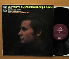 QG 1316 chitarra trascrizioni di JS Bach Christopher PARKENING 1971 NM/EX