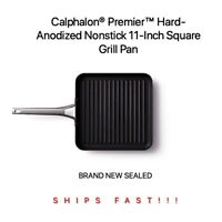 *NEW* 11'' Square QUALITY Non-Stick Grill Pan